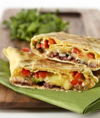 Bacon, Capsicum and Rocket Flat Bread