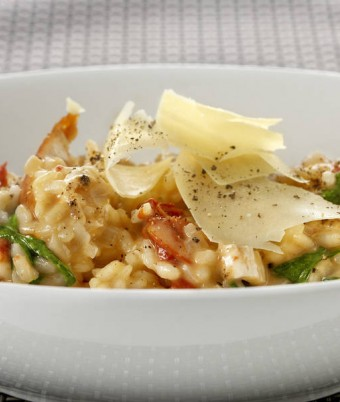 Creamy Chicken and Sundried Tomato Risotto