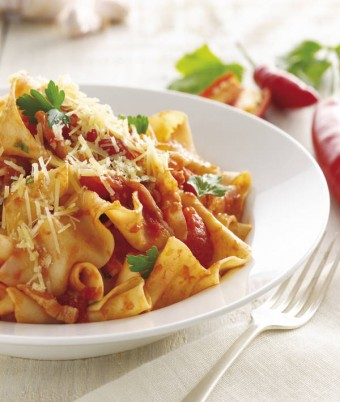 Pappardelle Amatriciana