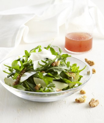 Pear, Walnut & Ricotta Salad