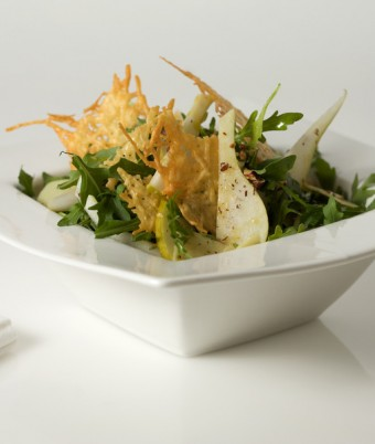 Crispy Pear and Rocket Salad