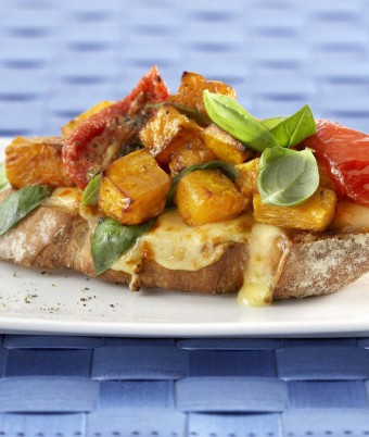 Roast Pumpkin Bruschetta