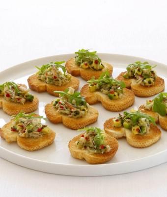 Chilli & Coriander Crab Salad