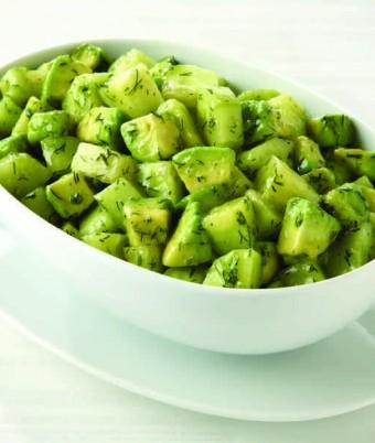 Avocado & Dill Salad