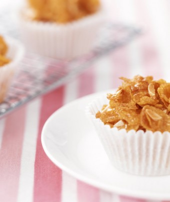 Traditional Honey Joys recipe with almonds