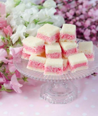 Rosey Coconut Ice