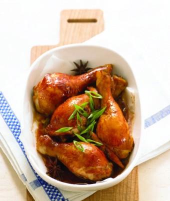 Sticky Chinese Cornfed Chicken Drumsticks
