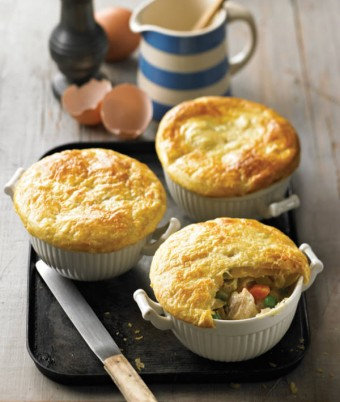 Country Cornfed Chicken Pot Pies