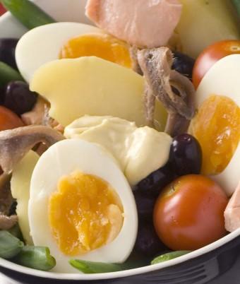 Nicoise Salad Recipe using Eggs