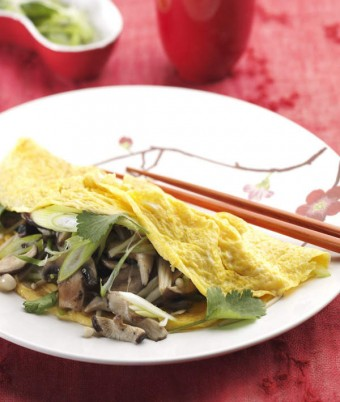 Asian Style Omelette