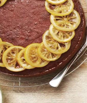 Syrupy Lemon Yoghurt Semolina Cake