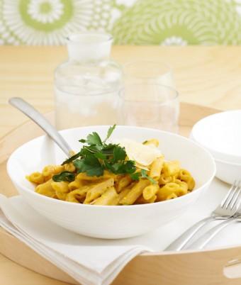Gluten Free Creamy Pumpkin and Sage Pasta