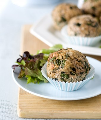 Turkey Muffin recipe - high protein snacks