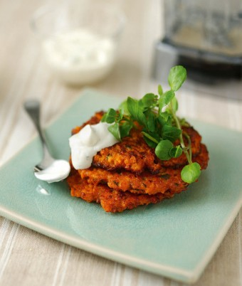Sweet Potato & Sun-Dried Tomato Fritters