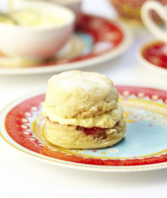 Rose & French Vanilla Scones