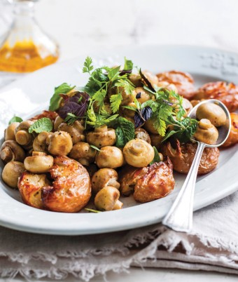 Roasted Mushroom & Potato Salad