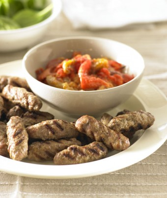 BBQ Cevapcici with Ajvar