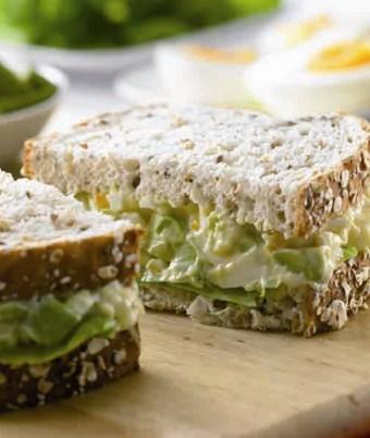 Egg and Avocado Sandwiches