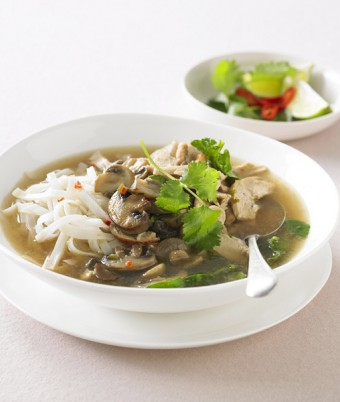Mushroom, Chicken Noodle Soup