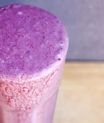 Berry Peachy Protein Smoothie