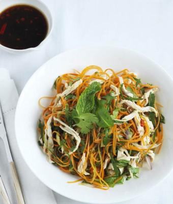 Spicy Chicken Vietnamese Salad