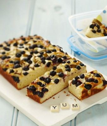 Apple and Blueberry Yoghurt Bar Recipe