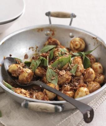 Chilli jam mushrooms