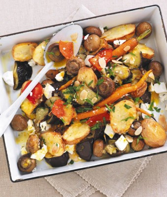 Roasted Mushroom & Vegetable Medley