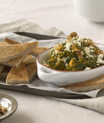 Pumpkin and Spinach Dip