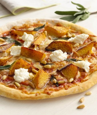Pumpkin, Pine Nut and Ricotta Pizza