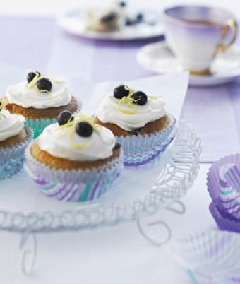 Blueberry & White Choc Muffins