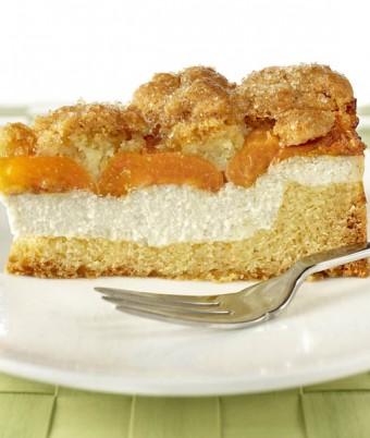 Spiced Apricot and Ricotta Shortcake
