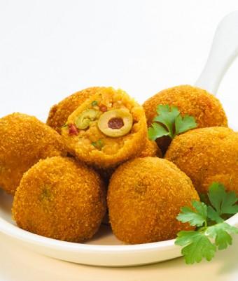Mediterranean Lentil Arancini