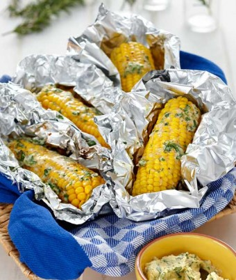 Cheesy Herbed Corn