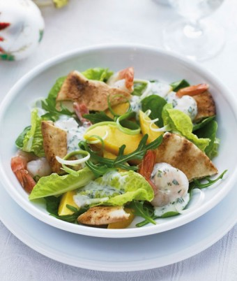 Crunchy Summer Prawn Salad