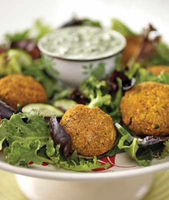Spiced Chickpea Patties