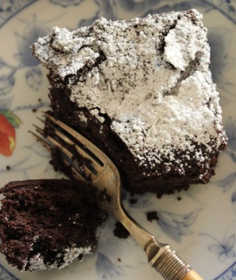 Healthy Chocolate Brownie