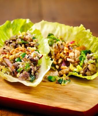 Stir fry Chicken & Rice San Choy Bau