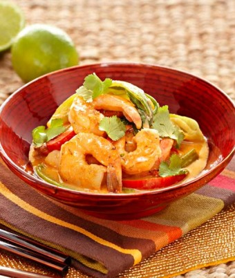 Aromatic Satay Prawn Curry