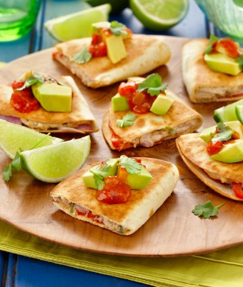 Tuna And Lime Quesadillas Recipe