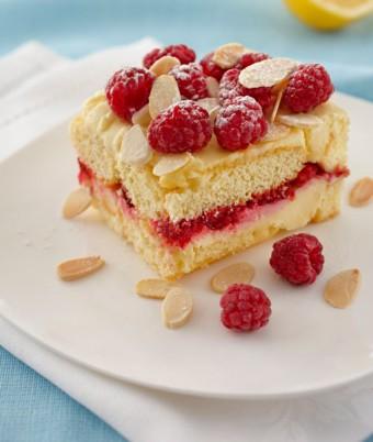 Lemon and Raspberry Tiramisu recipe using Philadelphia Cream Cheese