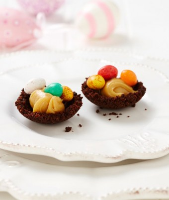 Chocolate Easter Tarts Recipe