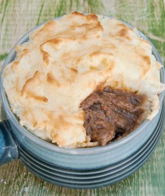 Lamb Pie with Creamy Aioli Mash