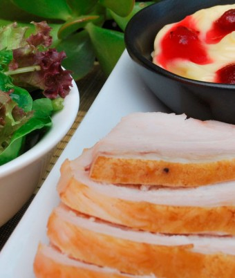 Roast Turkey Sandwich with Cranberry Mayonnaise