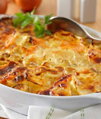 Lou's Creamy Vegetable Bake