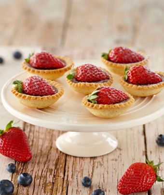 Chocolate and Liqueur Tartlets
