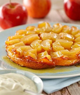 Tarte Tatin recipe using apples