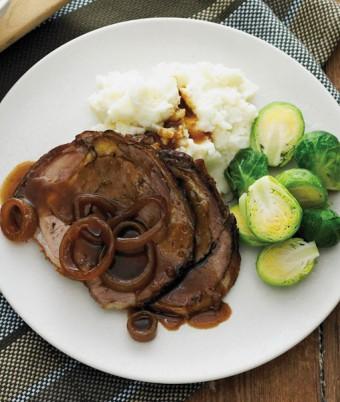Braised Beef with Cauliflower Mash