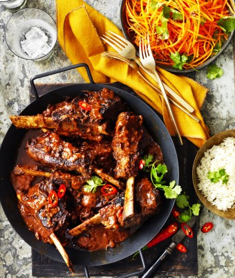Spicy Vindaloo Beef Ribs