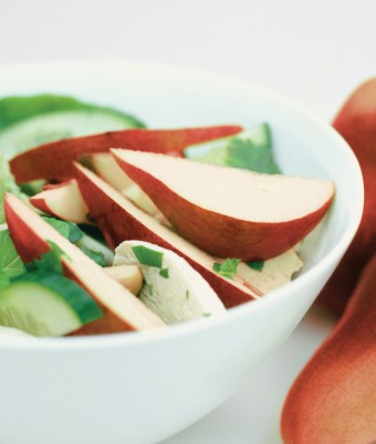 Thai Style Pear and Chicken Salad